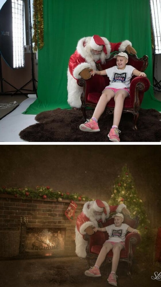 Lucy e Babbo Natale