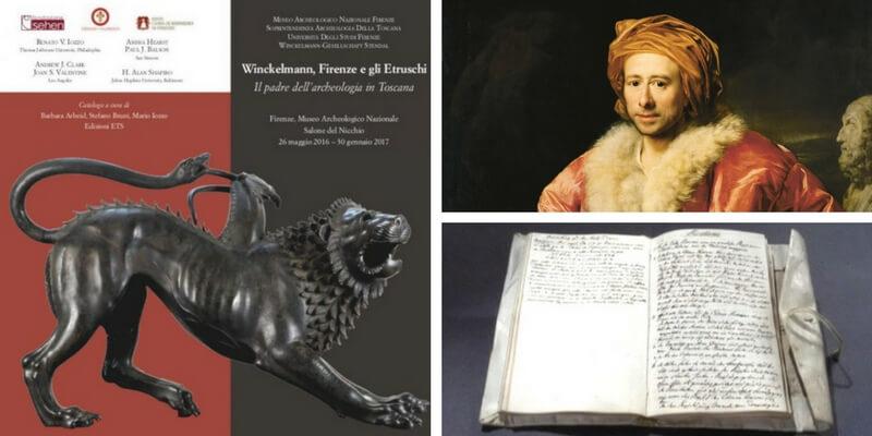 In Toscana la mostra dedicata a Winckelmann, Firenze e gli Etruschi