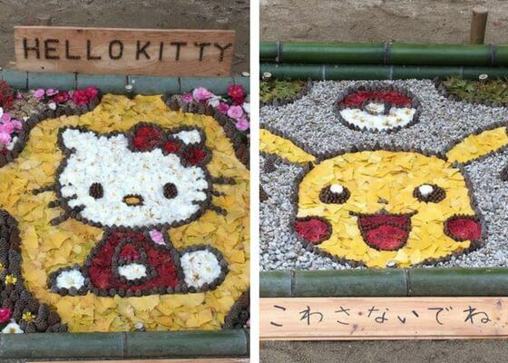 Hello Kitty e Pikachu