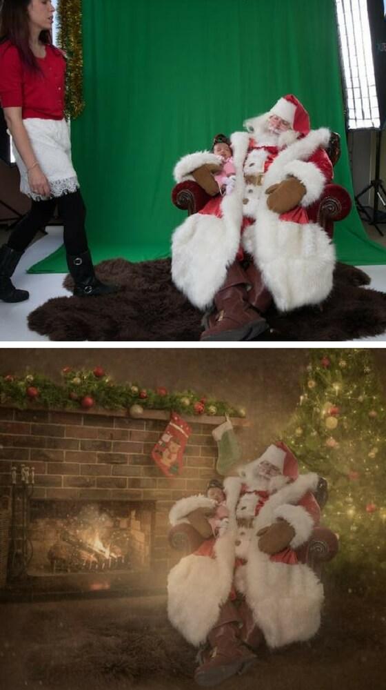 Baby Savy e Babbo Natale