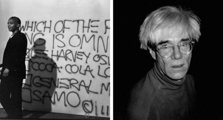Le fotografie di Andy Warhol e Jean Michel Basquiat in mostra a Mantova