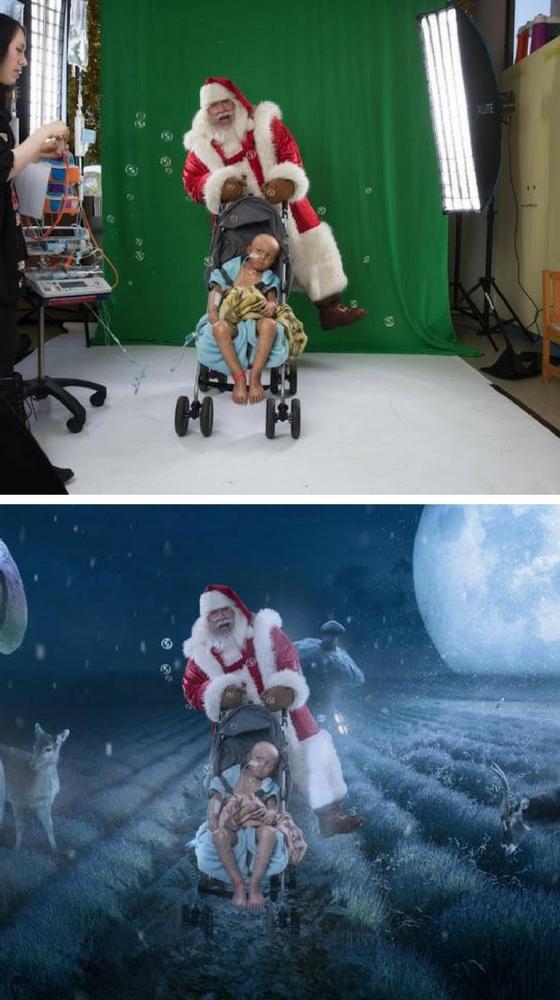 Aiden e Babbo Natale