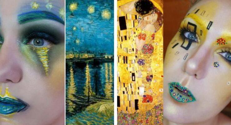 Lexie Lazer, la make-up artist che trasforma i visi in opere d'arte