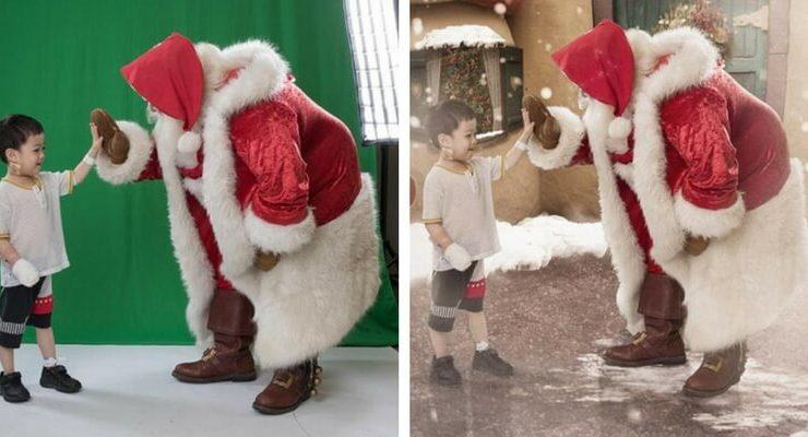 Un magico Natale tra le corsie del Monash Children Hospital grazie alle fotografie di Karen Alsop