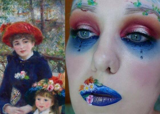 Sulla terrazza (due sorelle) - Pierre Auguste Renoir