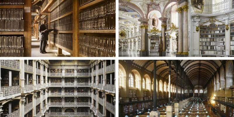 Le biblioteche più spettacolari del mondo