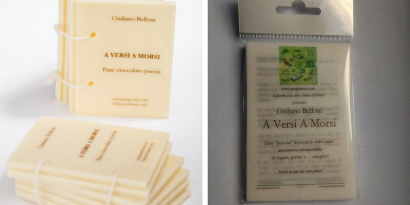 """""""Scriptfood"""", arrivano i libri che si mangiano"""