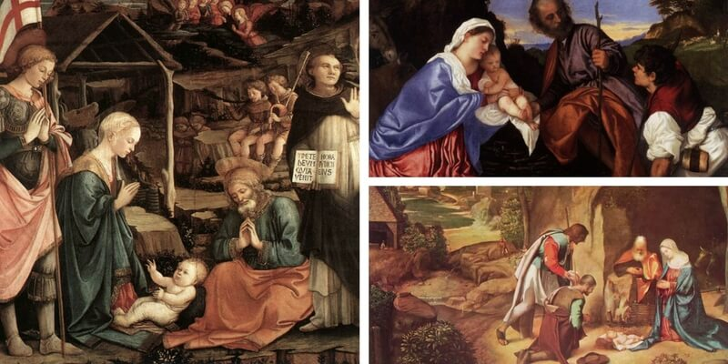 Le dieci Natività più belle della storia dell'arte