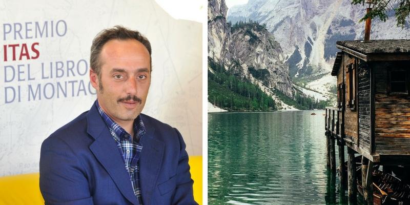 """Enrico Brizzi, """"La montagna è lo spazio della libertà"""""""