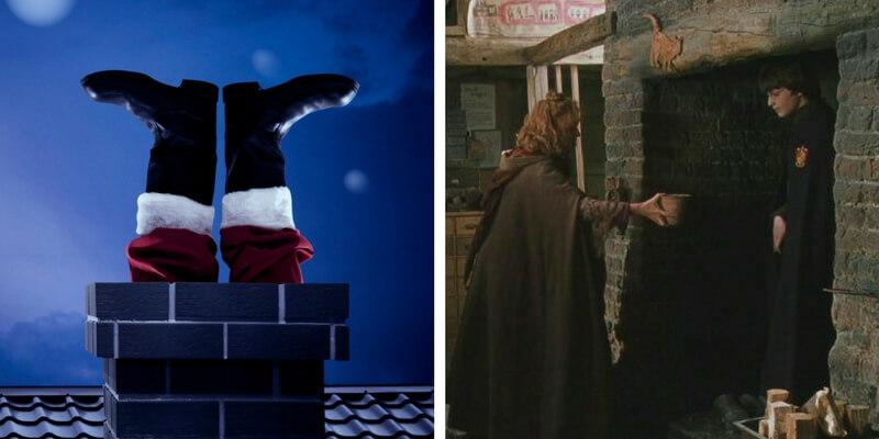 """I """"poteri"""" di Babbo Natale spiegati attraverso la magia di Harry Potter"""