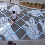 La street art di Roadsworth: le opere nascoste nella città