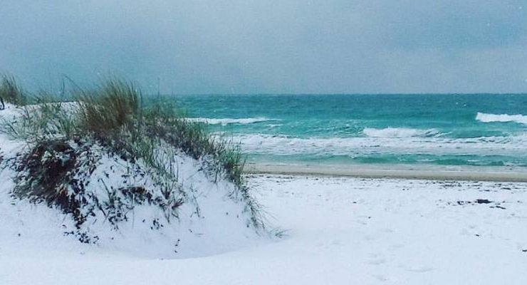 La neve al sud stupore!