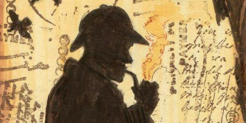 """Perchè Sherlock Holmes ha """"stroncato"""" la carriera del suo creatore Arthur Conan Doyle"""
