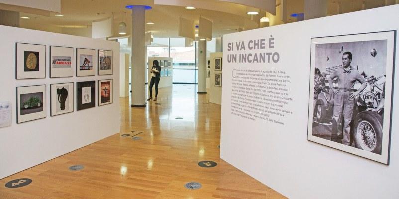 I valori di oltre 140 anni di pirelli in una mostra for Pirelli settimo torinese