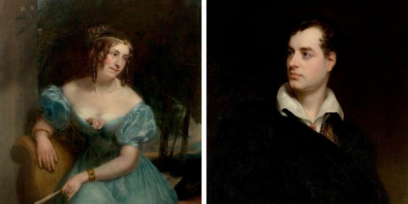 """""""Il mio destino riposa con te"""", la lettera d'amore di Lord Byron"""