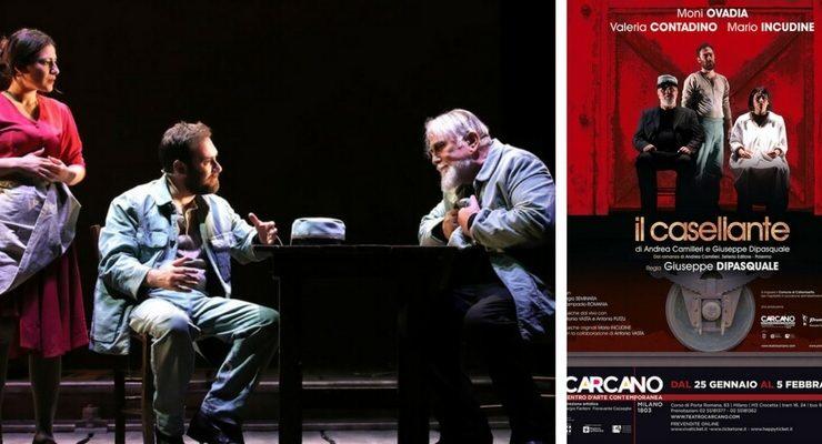 """""""Il Casellante"""" di Andrea Camilleri in scena al Teatro Carcano"""