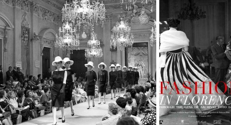 """""""Fashion in Florence"""", la moda italiana in 100 scatti"""