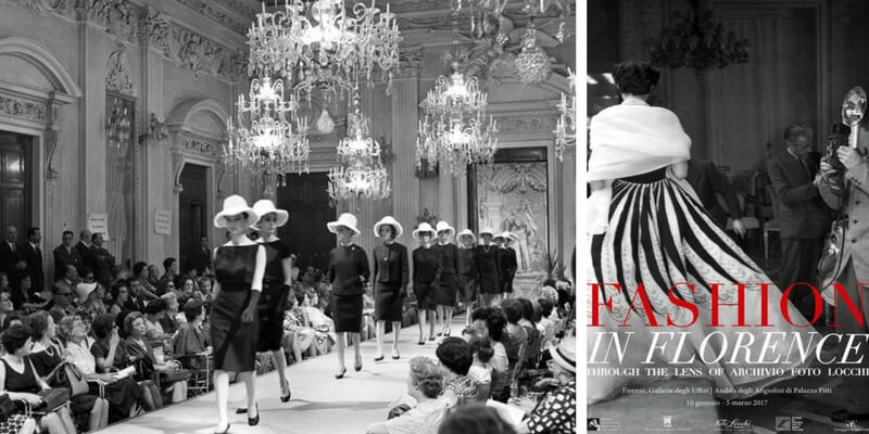 """Fashion in Florence"", la moda italiana in 100 scatti"