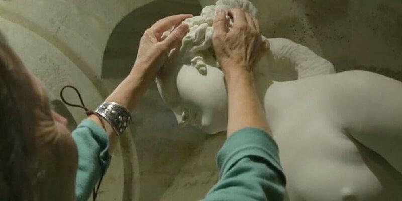 Le opere d'arte da toccare con mano