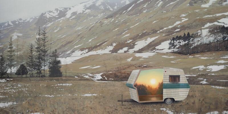 Andrew McIntosh e i suoi paesaggi nascosti