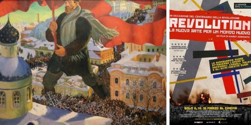 L'arte rivoluzionaria di Kandinskij, Chagall e Malevic arriva al cinema