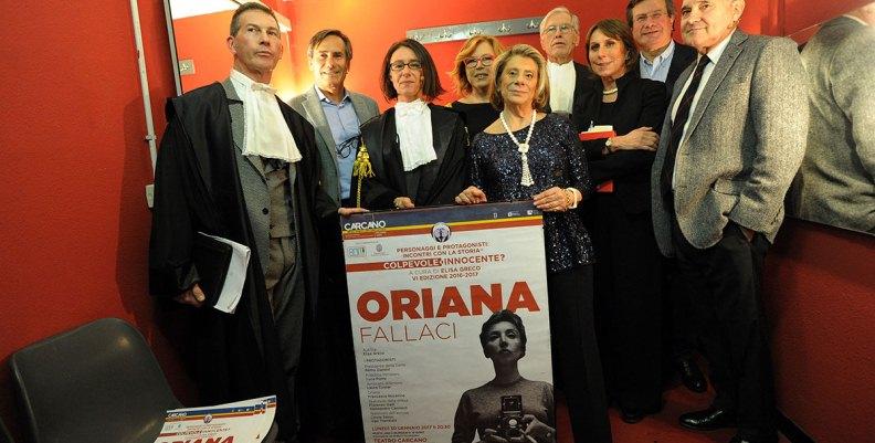 Oriana Fallaci Colpevole o Innocente? Il verdetto del pubblico al Teatro Carcano