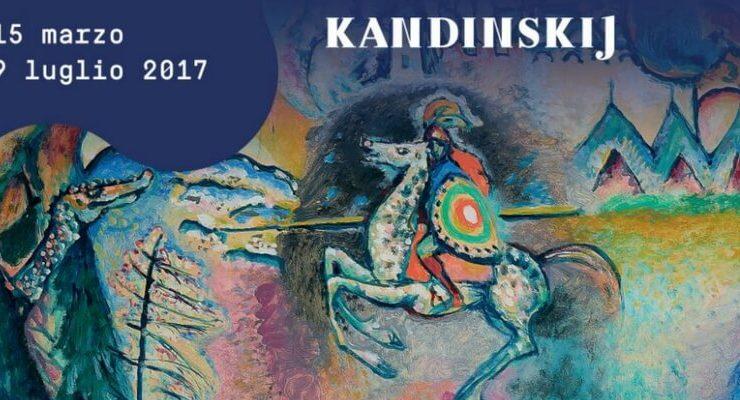 """Kandinskij, """"il cavaliere errante"""" in mostra al Mudec di Milano"""