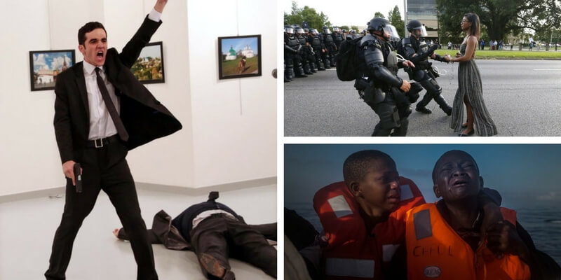 World Press Photo 2017, vince la foto dell'attentato all'ambasciatore russo
