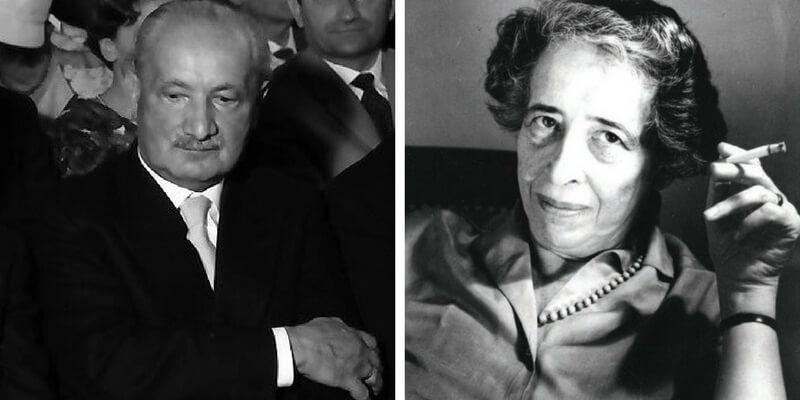 """""""Io non potrò mai averla per me"""", l'amore tra Heidegger e Arendt"""
