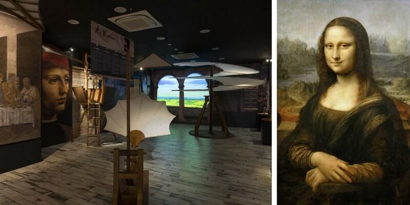 """""""Da Vinci Experience"""", il museo che t'immerge nel mondo del Genio Universale"""