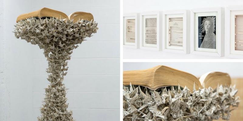 """Objecthood"", Jukhee Kwon trasforma i libri usati in sculture"