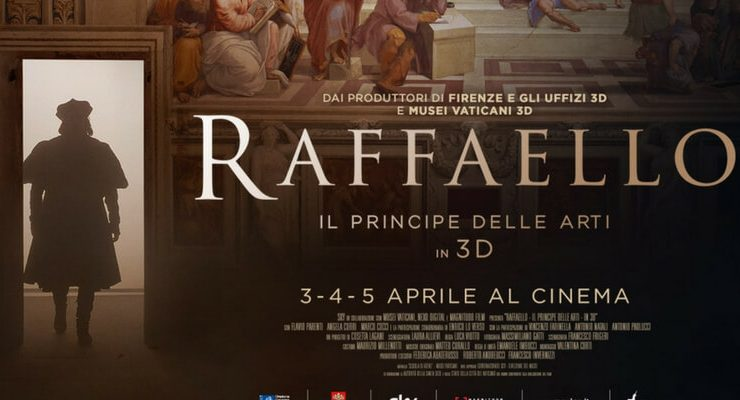Raffaello, il principe delle arti al cinema in 3D