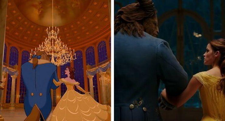 La Bella e la Bestia, versione animata e cinematografica a confronto