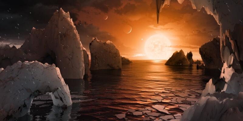 Scoperti 7 pianeti simili alla terra, potrebbero ospitare la vita
