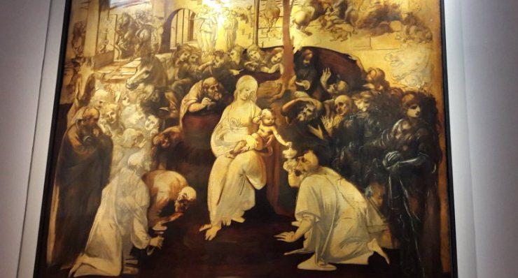 L'Adorazione dei Magi di Leonardo torna agli Uffizi dopo un lungo restauro