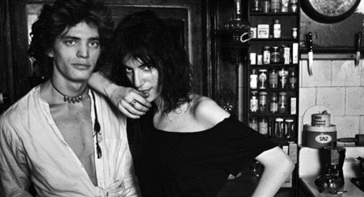 Robert Mupplethorpe e Patty Smith, una storia d'amore e di arte