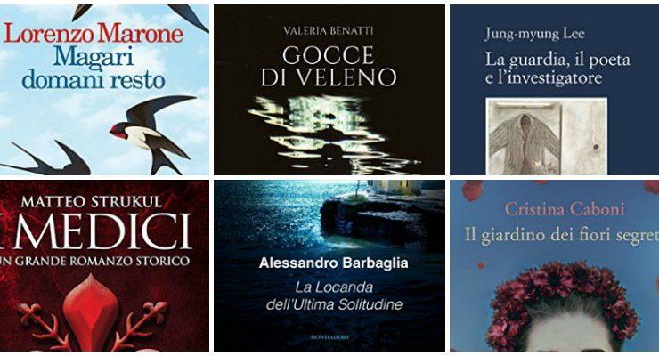 Ecco i 6 finalisti del Premio Bancarella