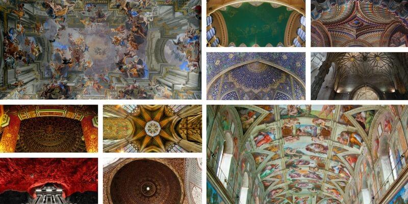 Con gli occhi al cielo, ecco 10 dei soffitti più belli al mondo
