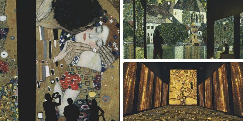 """Klimt Experience, prorogata a Firenze la mostra che ti fa """"immergere"""" nelle sue opere d'arte"""