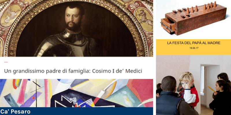 Festa del Papà, tutte le iniziative in programma nei musei italiani