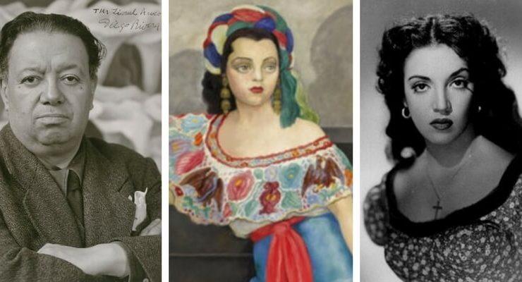 """Sotheby's presenta """"Retrato de la Actriz Matilde Palou"""" di Diego Rivera"""