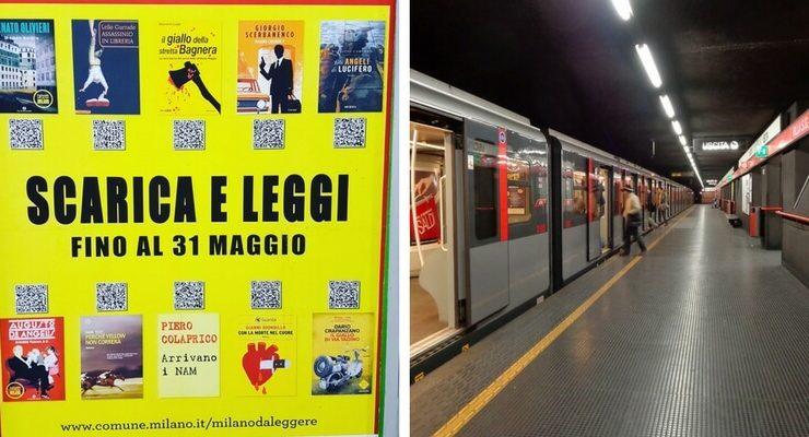 Adesso i libri si possono leggere gratis in metropolitana con lo smartphone