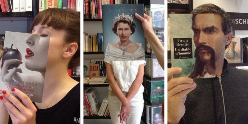 """Le """"facce da libro"""" invadono Instagram e le librerie"""