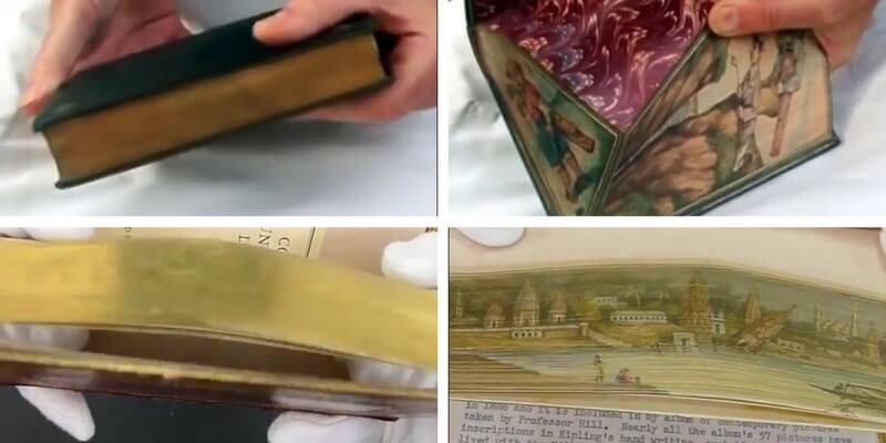 Le illustrazioni nascoste nei libri antichi