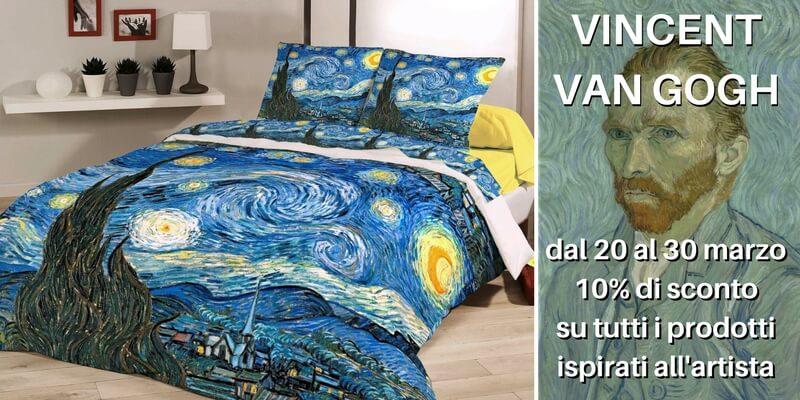 Van Gogh, in promozione i prodotti ispirati al maestro del colore
