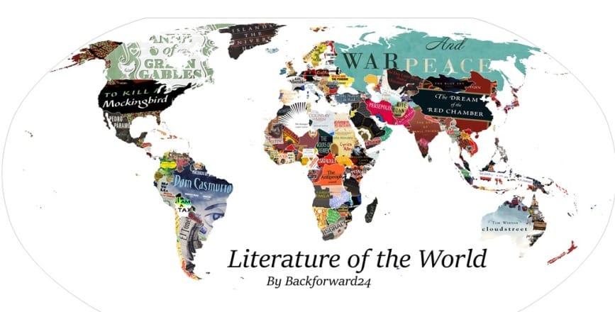 mappa della letteratura