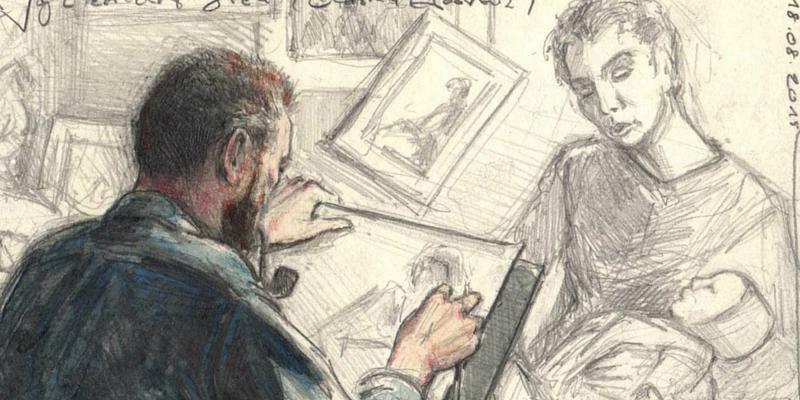 """Van Gogh e la """"donna sola"""": l'amore contrastato per Sien"""