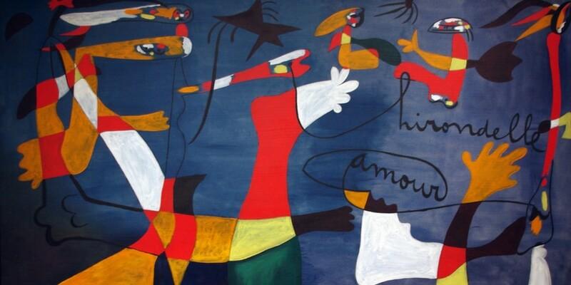 Il mondo onirico di Mirò in mostra a Bologna