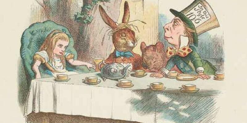 """L'Indovinello del Cappellaio Matto di """"Alice in Wonderland"""""""