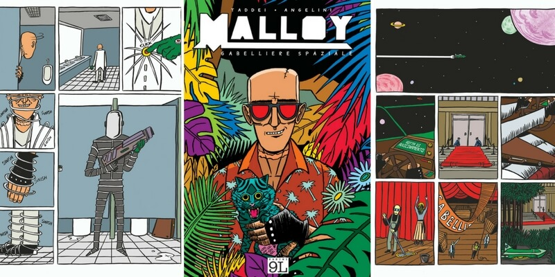 """Malloy"", la realtà quotidiana raccontata con ironia in una graphic novel"
